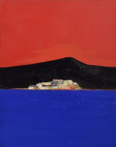 03 Syros, 2017, olej płótno, 92 x 73 cm, fot. Łukasz Nowosadzki