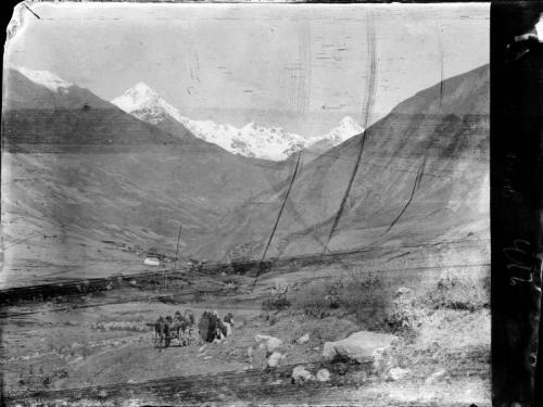 HCz.22(113) Kassarski wąwóz, Droga Osetyńska, Kaukaz